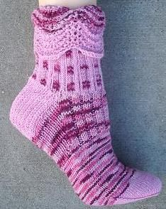 Ribbons Sock - Free Pattern