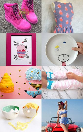 COLORS!!! by Katarzyna Bialik on Etsy--Pinned with TreasuryPin.com