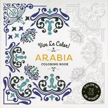 Abrams Books-Vive Le Color! Arabia Coloring Book, Multicolor