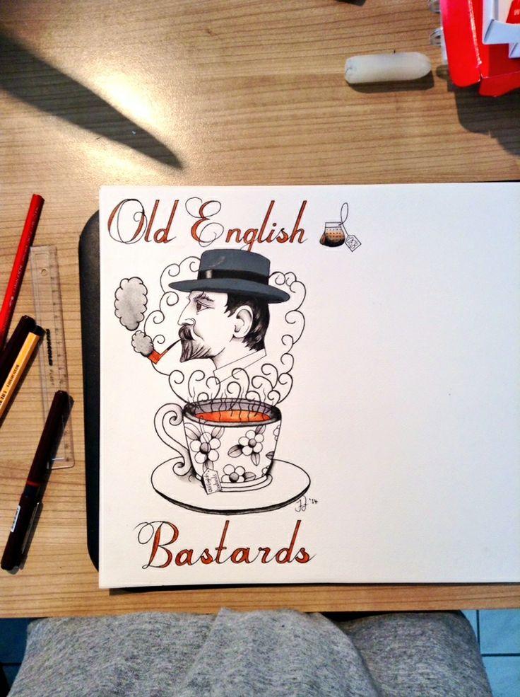 #tattoo #tattoos #flash #art #englishgentleman