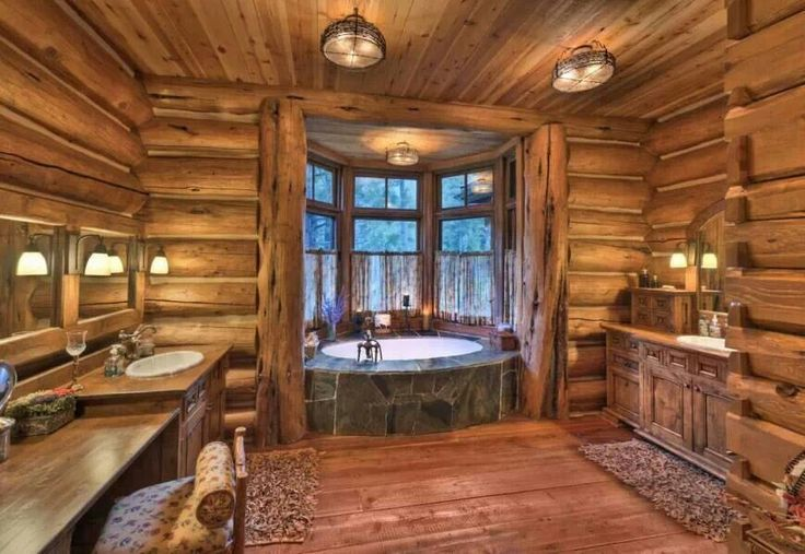Rustic bathroom   For the home