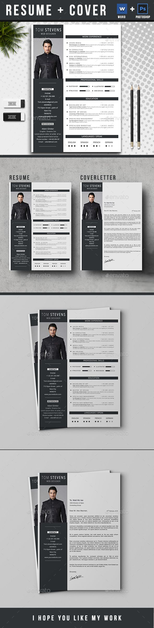 33 Best Resume CV Images On Pinterest