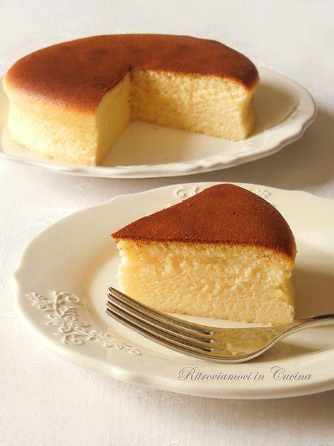 Pastel de queso de algodón japonés