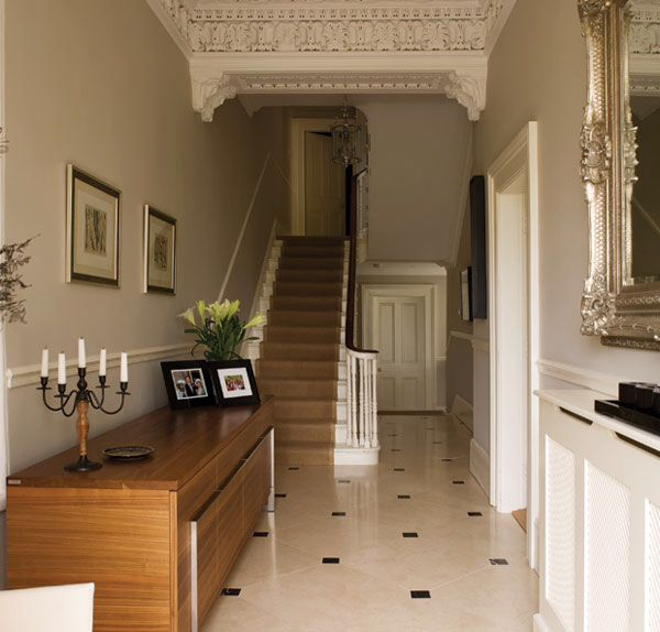 Lovely Contemporary Victorian Hallway
