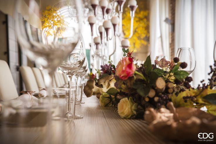 Autumn Table - Dinner   EDG Enzo De Gasperi Nuova Collezione Autunno