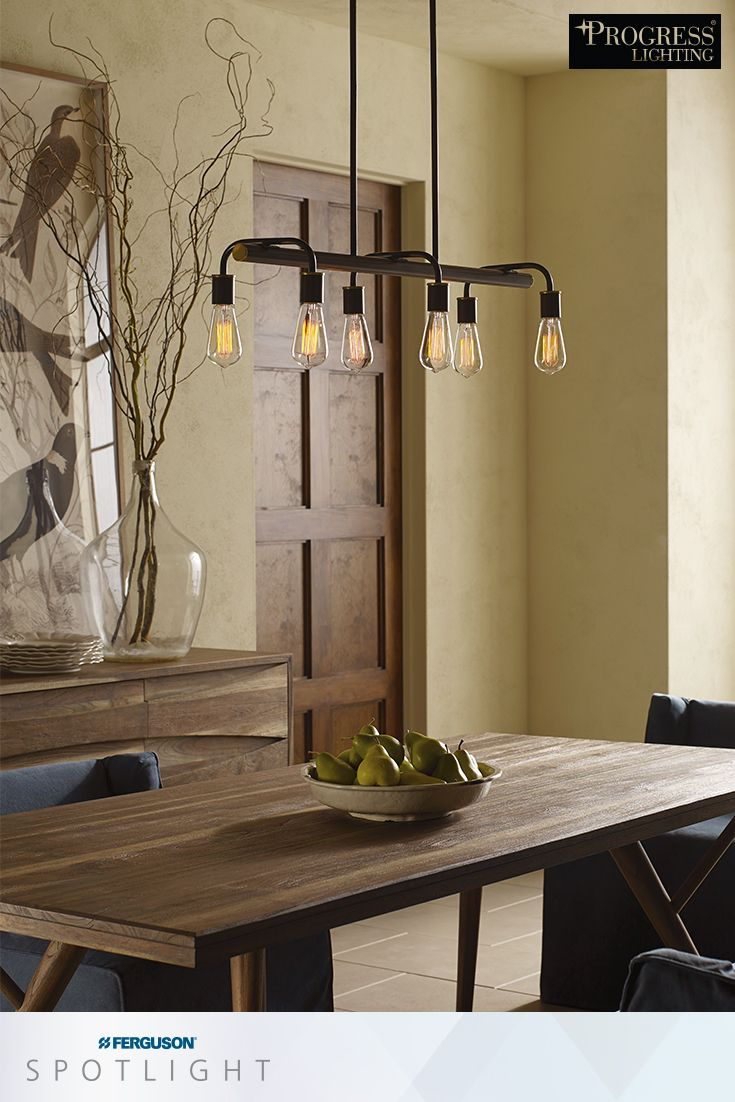 Outfit your dining area with the Swing chandelier by Progress Lighting for a farmhouse chic interior design & 367 best Lighting images on Pinterest | Pendant lighting ... azcodes.com