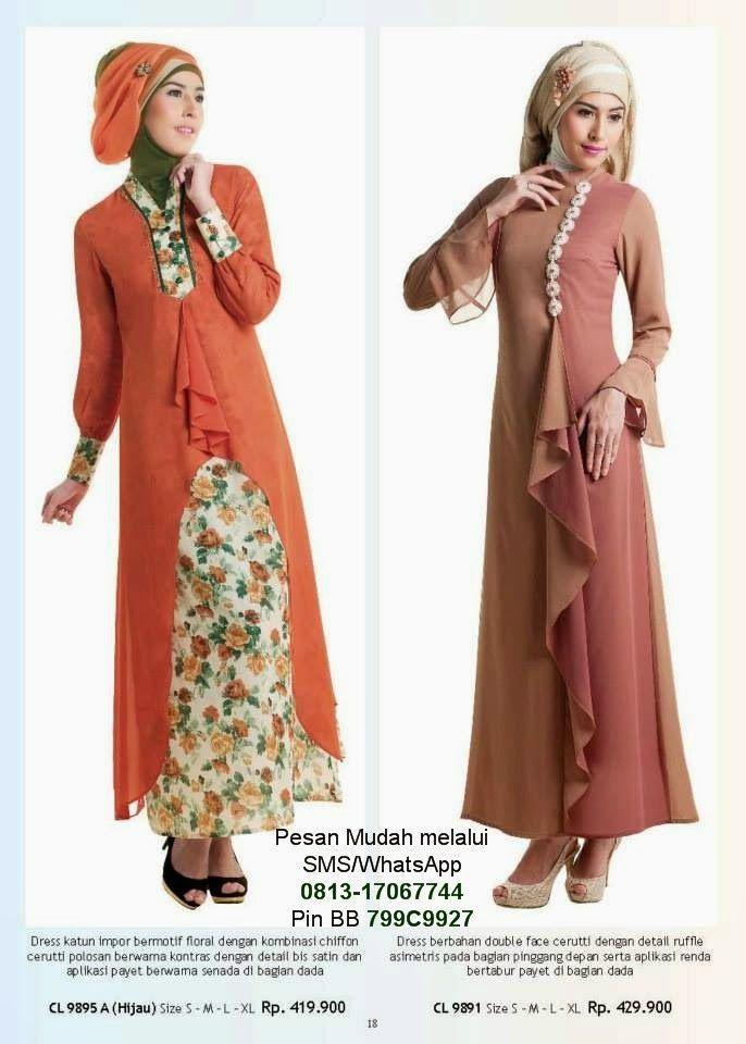 Baju Gamis Terbaru 2014 | Cantik Berbaju Muslim