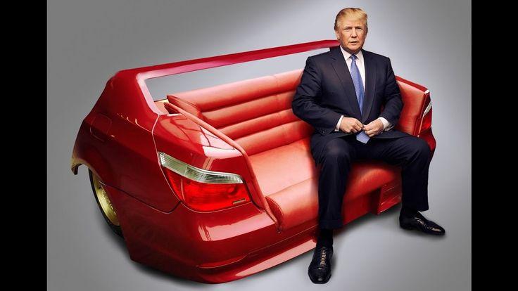 Donald Trump on BMW sofa tel. +48 888 877 866