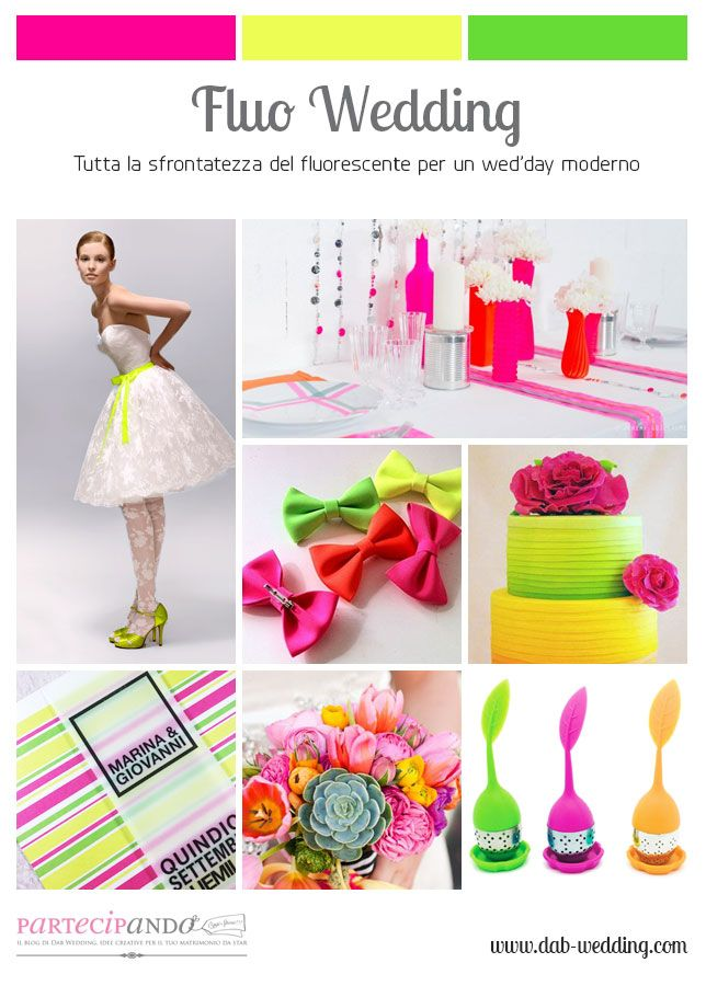INSPIRATION BOARD – Fluo Wedding