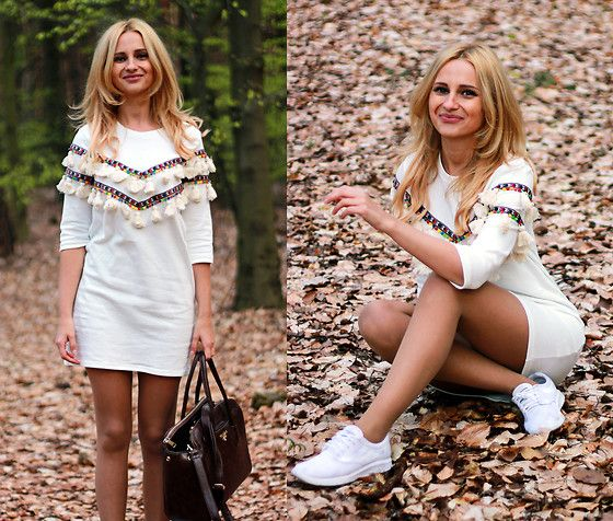 Get this look: http://lb.nu/look/8701885  More looks by Adriana M.: http://lb.nu/lilicons  Items in this look:  Shein White Boho Dress, Vans White Sneakers, Prada Vintage Bag   #bohemian #casual #street #boho #streetstyle #lookbook #lookbooker #today #outfit