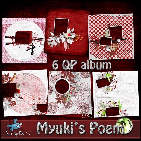 Miuky's Poem QP Album by Marie