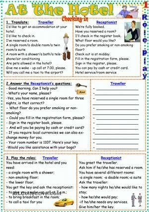 Forum | ________ Grammar | Fluent LandUseful Expressions to Use at The Hotel…