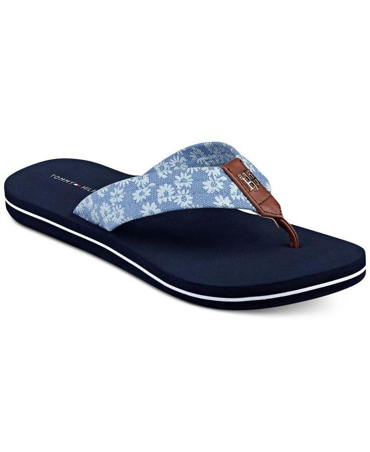 Tommy Hilfiger Clean Flip-Flop Sandals