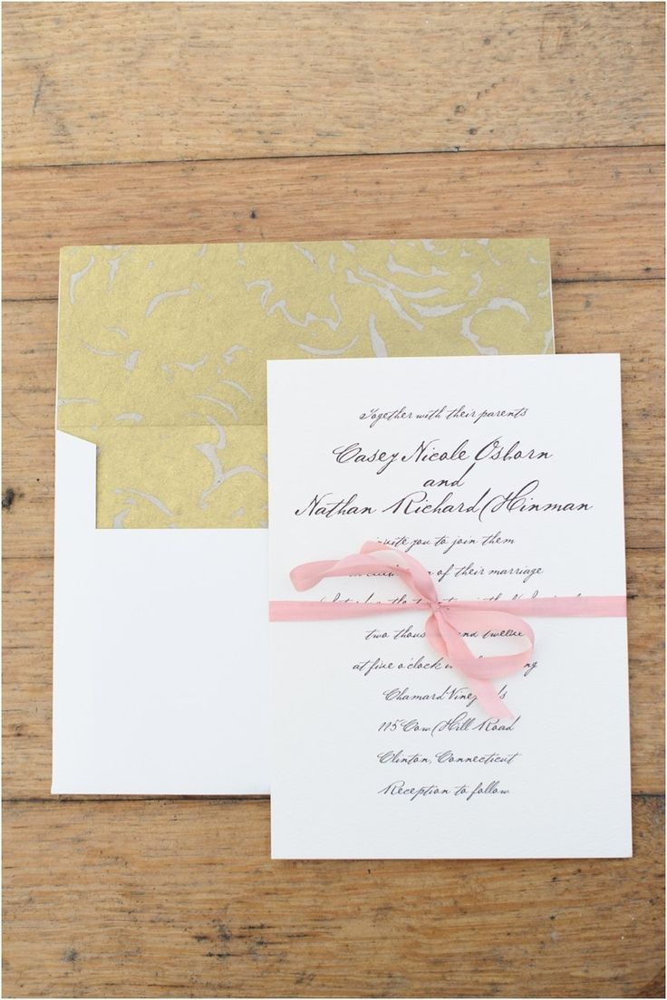 address wedding invitation unmarried couple%0A Connecticut Wedding from Suzanna March   True Event