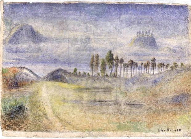 Lars Hertervig (1830-1902) - Landskape