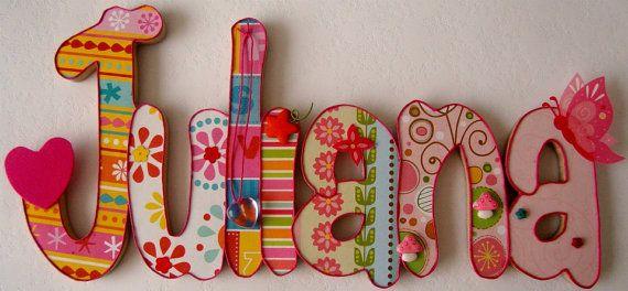 Beautiful Wooden Names for Children 7 by MaderitasEmpapeladas