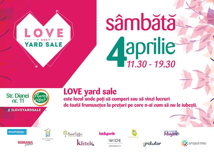 Love Yard Sale: 4 aprilie Have a Cigar Bucharest
