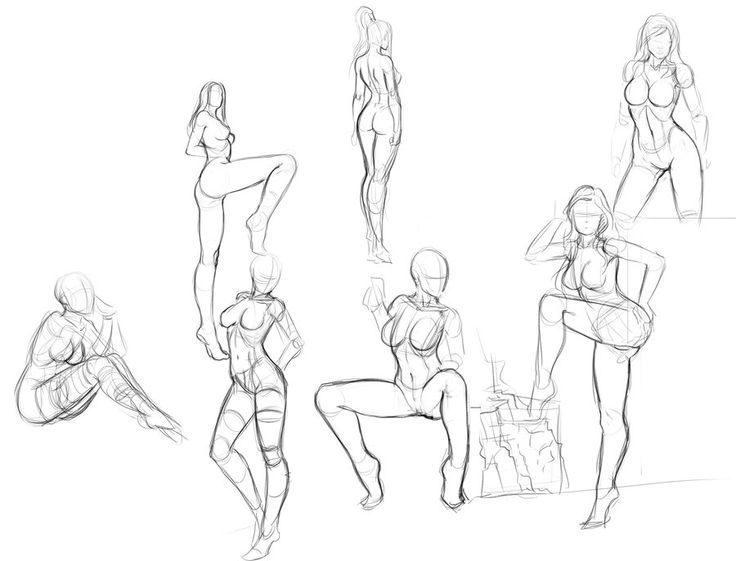 Image Result For Poses Body Reference Drawing Figure Sketching Drawings