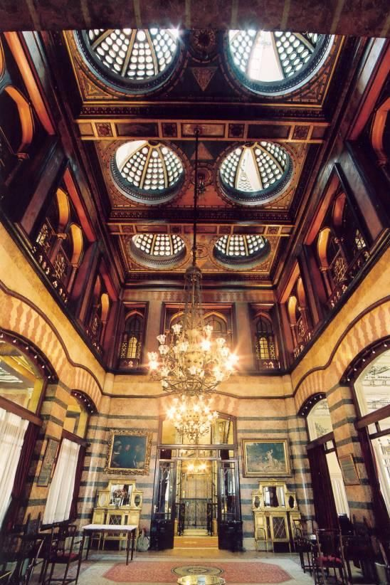 Pera Palas Hotel in Istanbul where Agatha Christie & Kemal Ataturk once stayed. I love the oriental architecture of this place