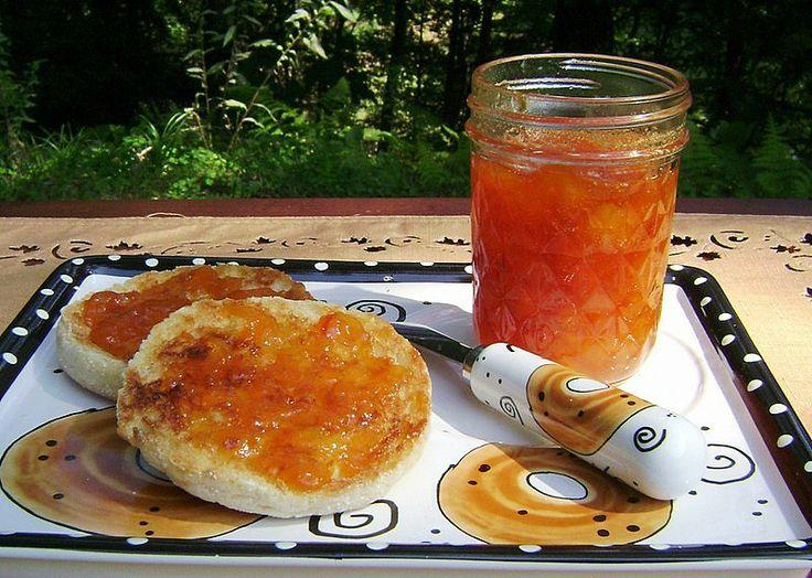 Peach Jam with Bourbon and Vanilla | Recipe