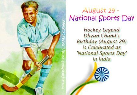 #BharatRatna Major Dhyanchand for the Occasion of National Sports Day.