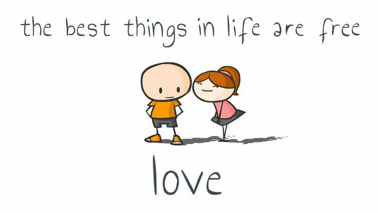 Best things in life are free: Love