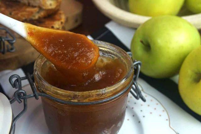 Mermelada De Manzana Y Canela Al Microondas La Cocina Fácil De Lara Mermelada De Manzana Receta Mermelada Mermelada