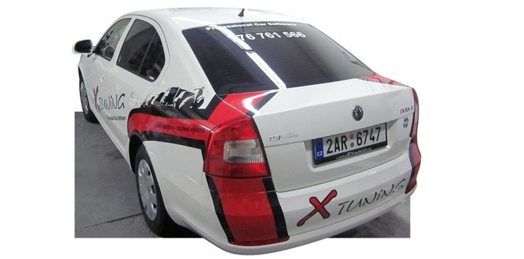 X tuning, s. r. o. - graphics, design and wrap of the fleet.