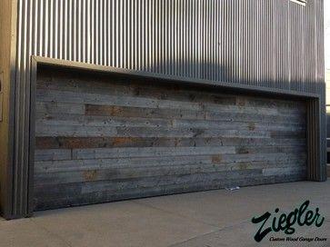 Modern Garage Doors - modern - garage doors - orange county - Ziegler Doors Inc.