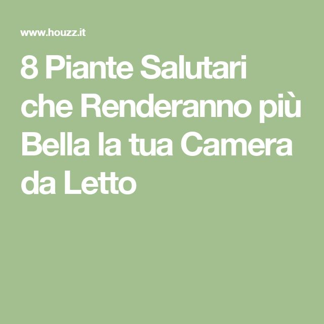 Stunning Crea La Tua Camera Da Letto Images - Design and Ideas ...
