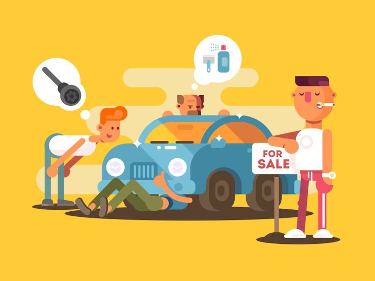 Car for sale by Anton Fritsler (kit8) #Design Popular #Dribbble #shots