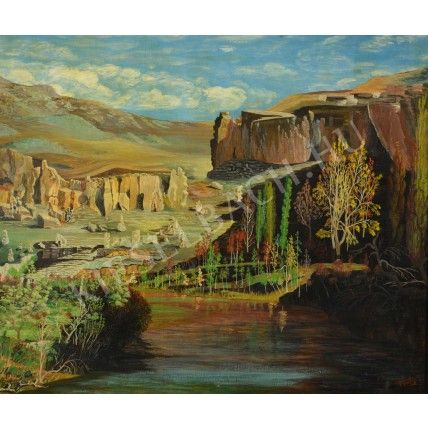 Romantic Landscape - István Fritz