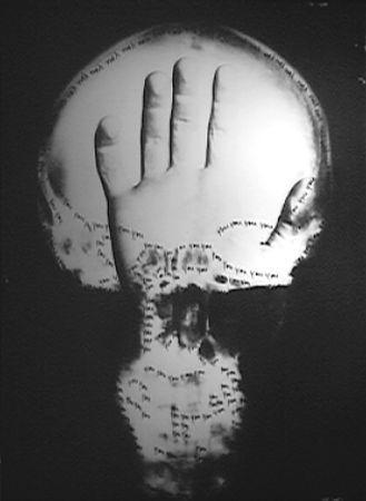 Craniologia by Ketty La Rocca, 1973: