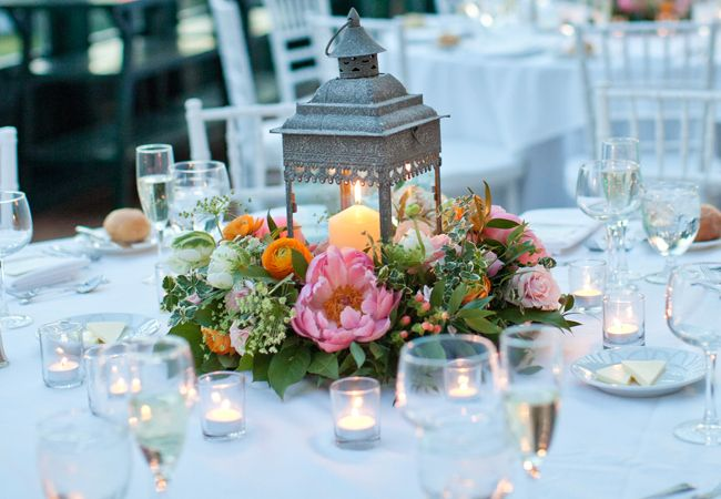 pink and mint wedding centerpiece - Google Search