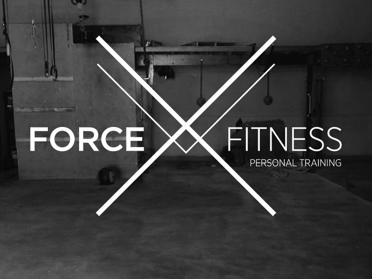 Force Fitness Personal Training logo by Katie Conforti