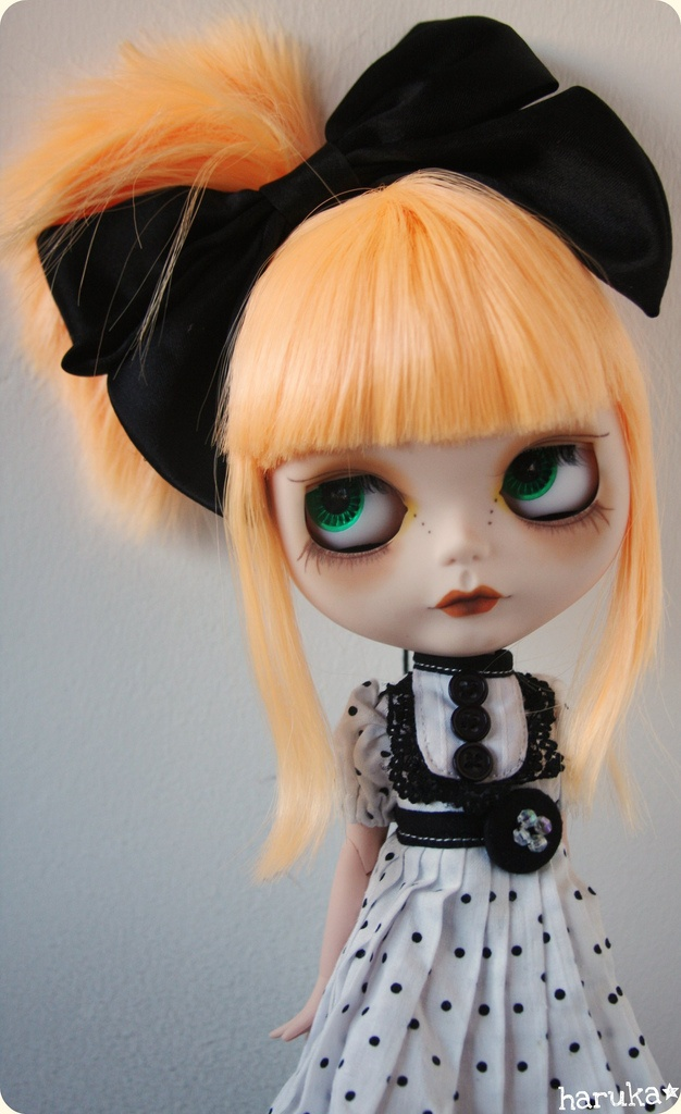 """Blythe Doll. Just dont trust her. Reminds me of """"Sweet Baby Jane"""""""