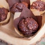 Chocolade courgette muffins | Eat.Pure.Love