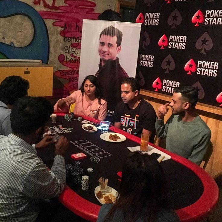 The weekend rolls by and Im all set with my lucky charms for a game of poker hosted by #Pokerstars The venue is @superhappypopup (erstwhile Barking Deer) in Lower Parel and were lead upstairs to the underpinning of a make-shift casino replete with #Poker tables. The players are already seated at the table Im late and just manage to snag the last seat.  Holding court is Aditya Agarwal one of the top Poker players from India whos played in the World Series of Poker more than 12 times and top…