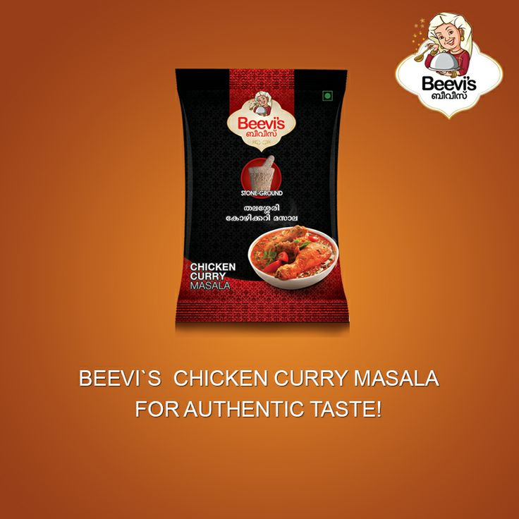 Beevi's chicken masala for authentic taste...