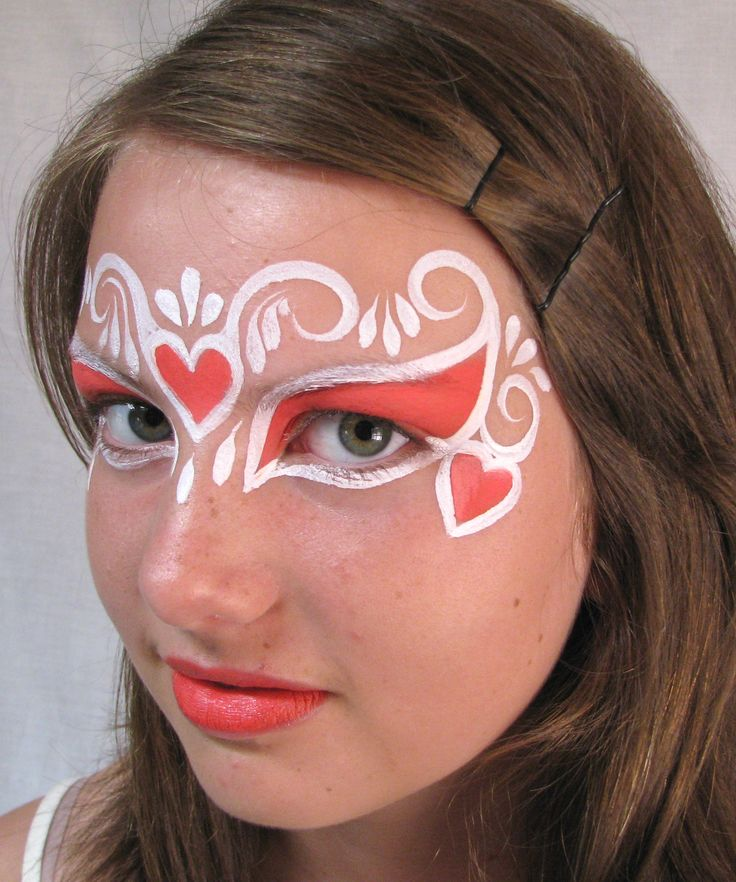 Valentines Day Face Painting!