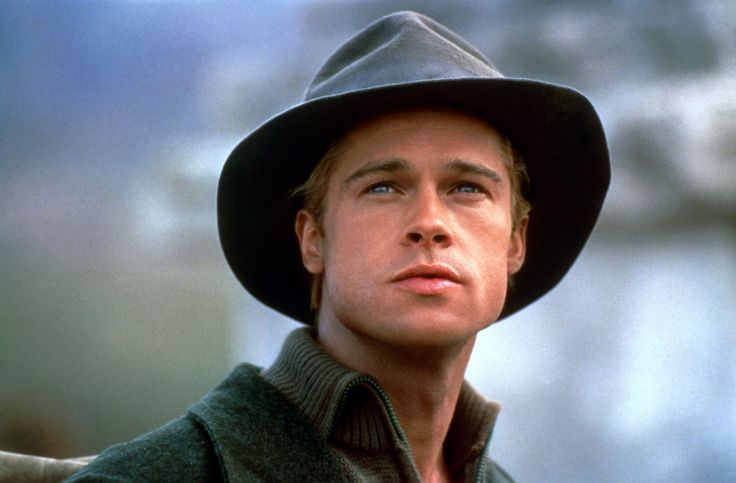 """Seven Years In Tibet"" movie still, 1997.  Brad Pitt as Heinrich Harrer."