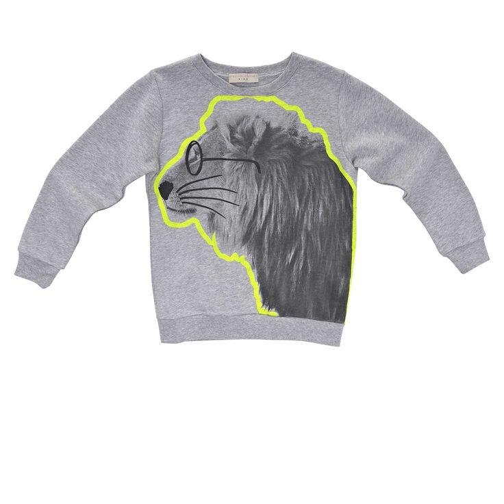 W - Stella Mccartney Kids - BILLY LION SWEATSHIRT - Shop at the official Online Store