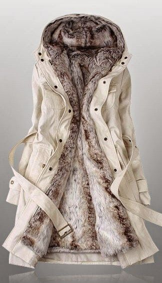 Faux Fur insulated #Winter #Jacket