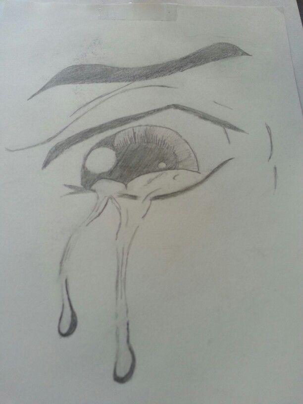 Crying eye...