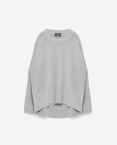Image 8 of OVERSIZED SWEATER from Zara