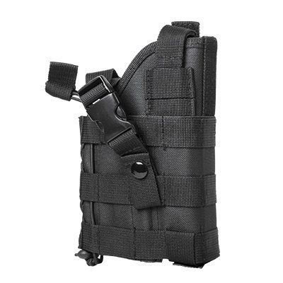 AmazonSmile : Black Tactical Ambidextrous Modular MOLLE Holster Fits Glock 17 20 21 22 37 31, SIG P229 P226 P250 SP2022 Mosquito, Hk H&k USP P2000, S&W M&P, Beretta M9 92 96 PX4 PX9 Storm, Taurus 24/7 OSS PT92, CZ75, FN FNX FNS Springfiled XD Colt .45 Kimber Para Rock Island 1911 Taurus PT92 24/7 OSS Ruger P85 P89 P90 P92 P95 P345 SR9 SR40 Full Size Pistols : Sports & Outdoors