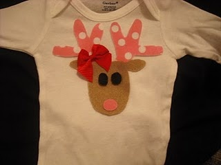 DIY Reindeer Shirt