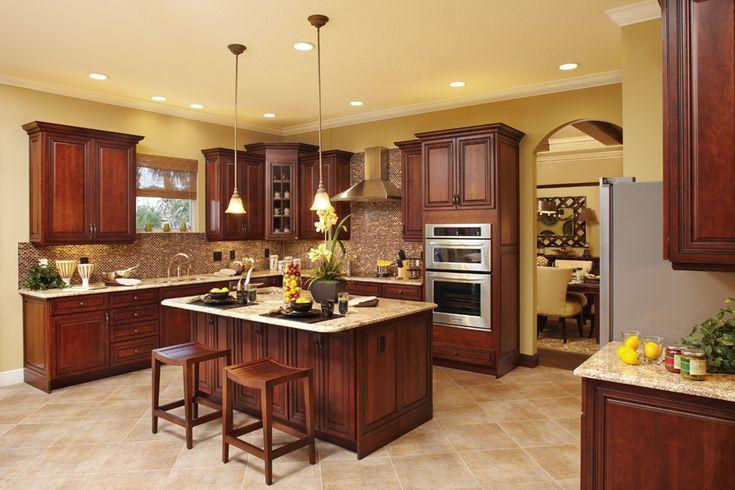 Best 25 kitchen designs photo gallery ideas on pinterest for Gourmet kitchen island designs