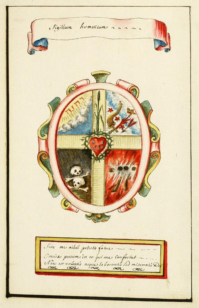 "Alchemy:  ""The Vessels of Hermes"" – an Alchemical Album (ca.1700), from the Manly Palmer Hall Collection of Alchemical Manuscripts 