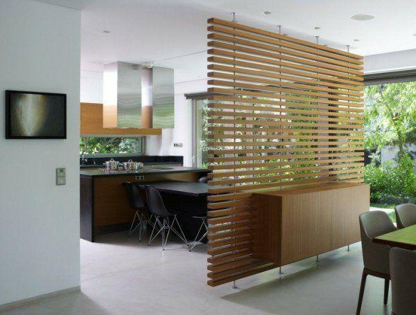 Die besten 25+ Holzwand raumteiler Ideen auf Pinterest Holzwand - holz regal als raumteiler idee einrichtung